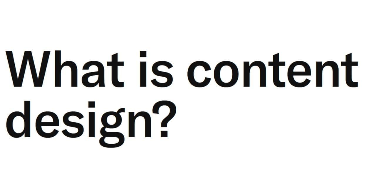 طراحی محتوا